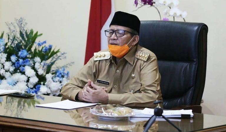 Gubernur WH Bahas PSBB Bareng 3 Pimpinan Tangerang Raya